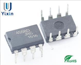 高精度低噪音双运放大器JRC4558D参数
